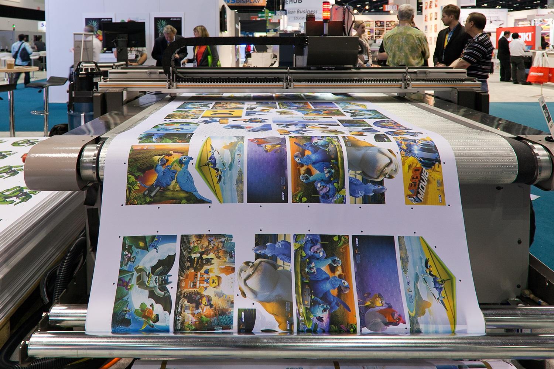 Flexo printing or digital printing