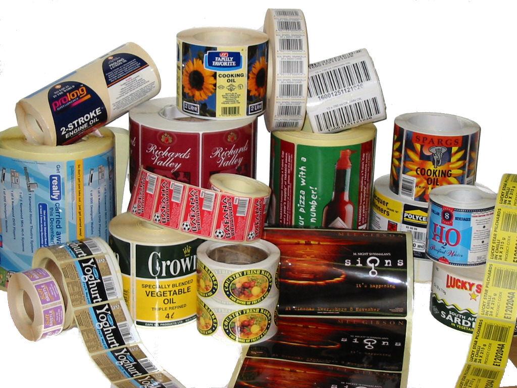 labels printing material